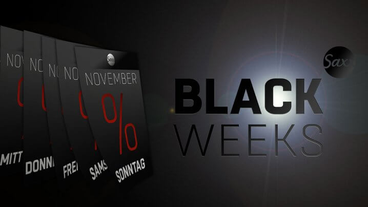Saxx Black Weeks