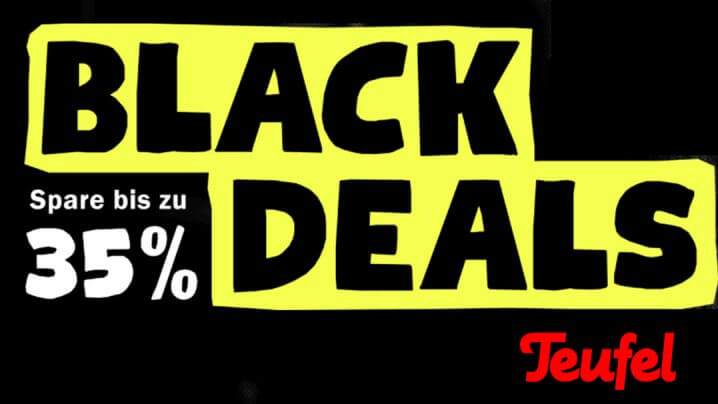 Teufel Black Deal Aktion