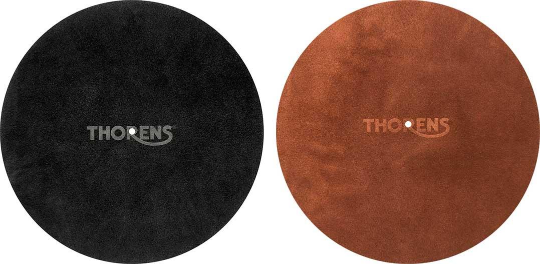 Thorens Leder-Tellermatte