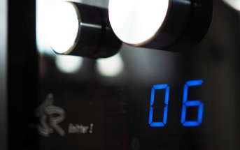 ASR Emitter I - Verstärker, Detail Frontplatte
