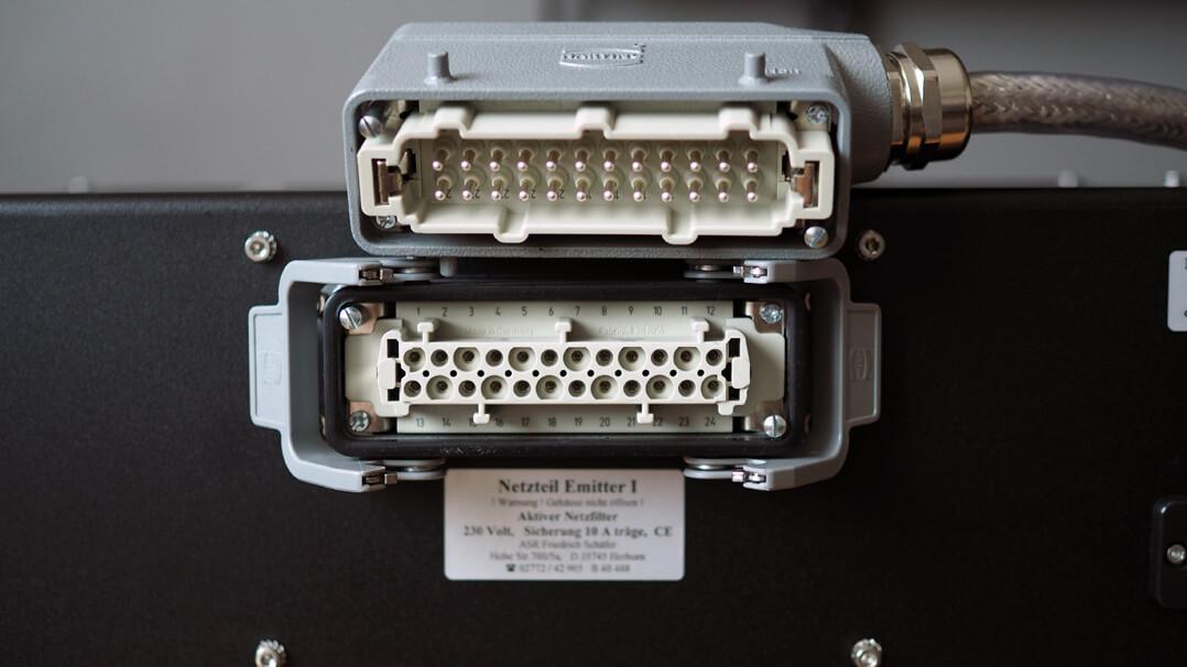 ASR Emitter I - Harting-Steckverbindung