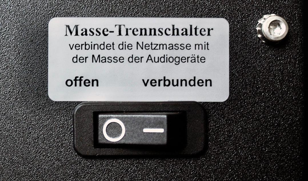 ASR Emitter I - Massetrennschalter
