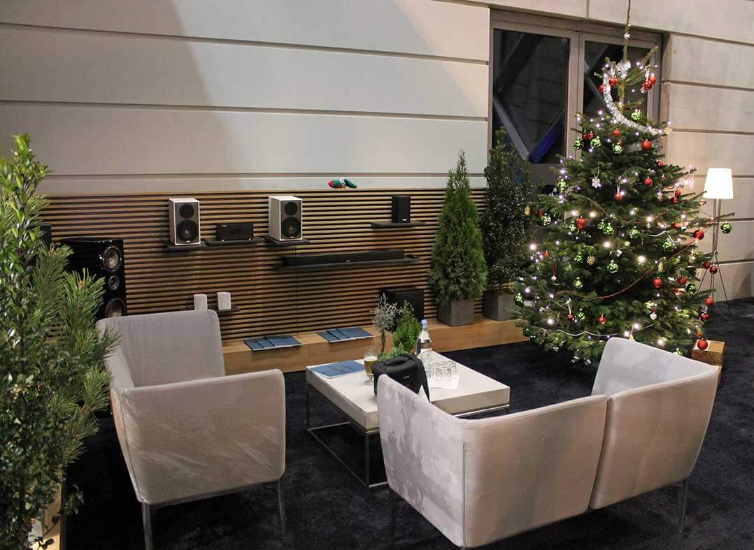 Cantons VIP-Lounge auf der Motor Show 2019