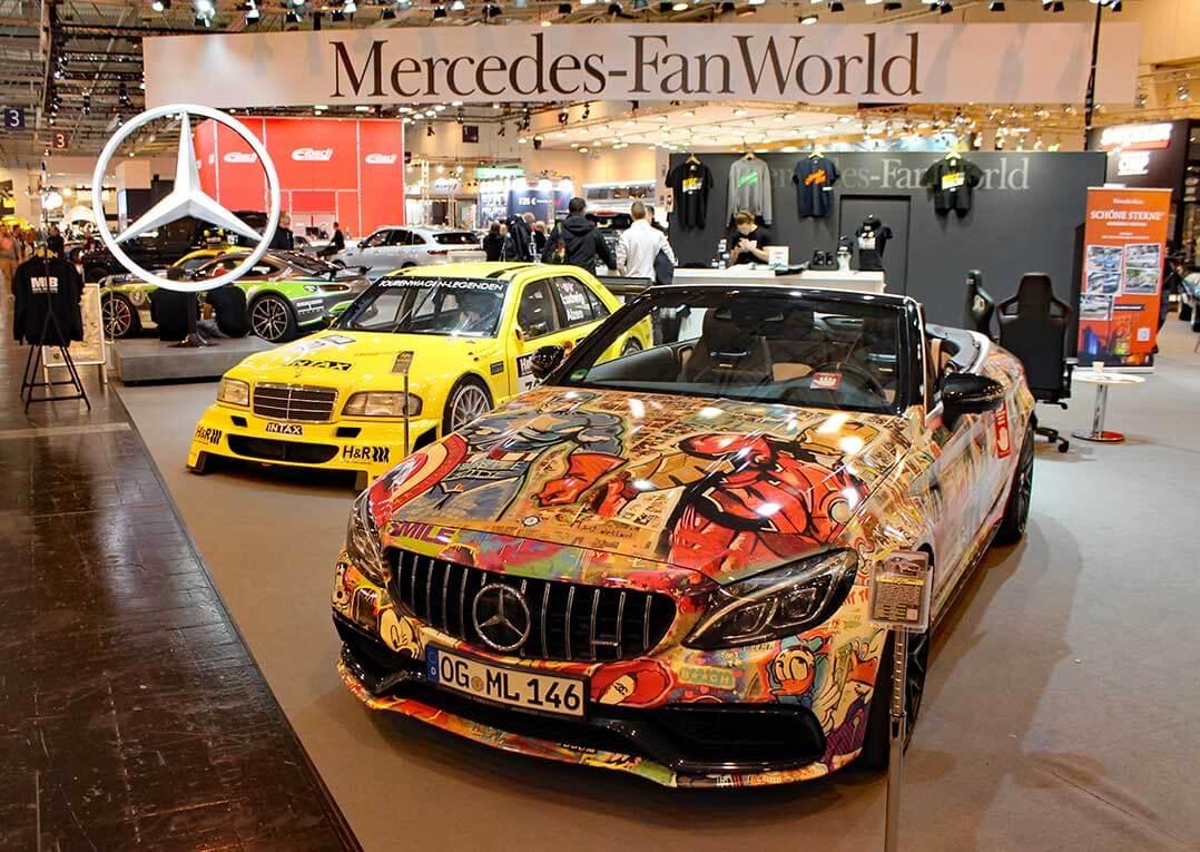 Essen Auto Show 2019, Mercedes-Stand
