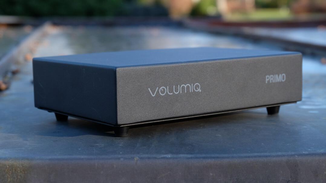 Volumio Primo Hifi Edition - Front ohne Antenne