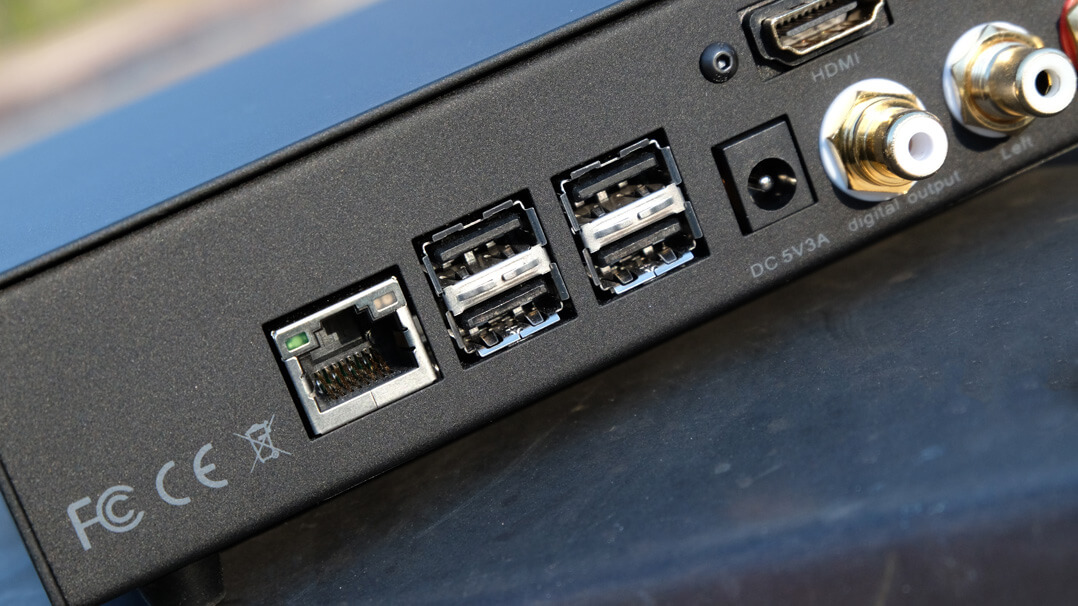 Volumio Primo - USB-Schnittstellen