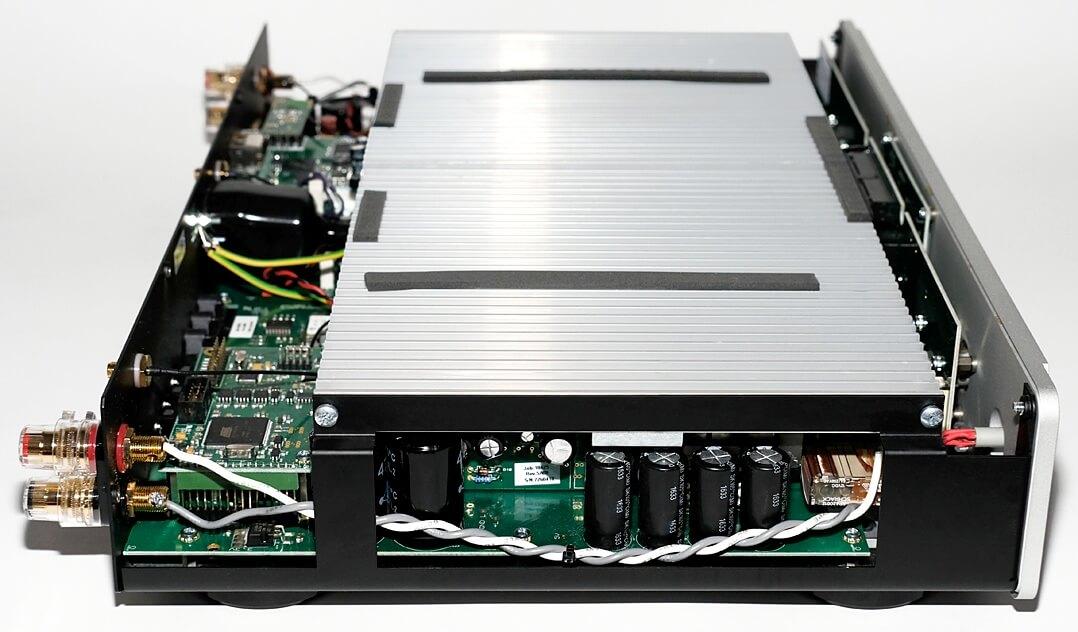 Leema Quasar,Blick auf die Elektronik