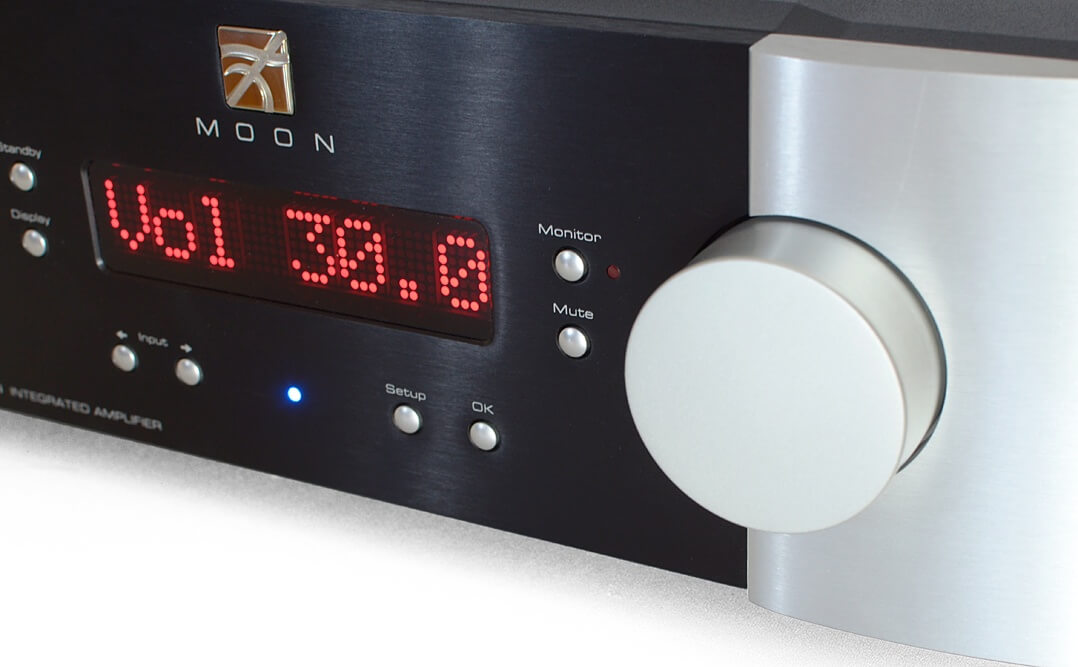 Moon 700i v2, Volume-Regler
