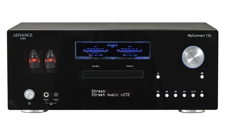 Advance Paris MyConnect 150: Streaming-Verstärker mit CD-Player & Tuner