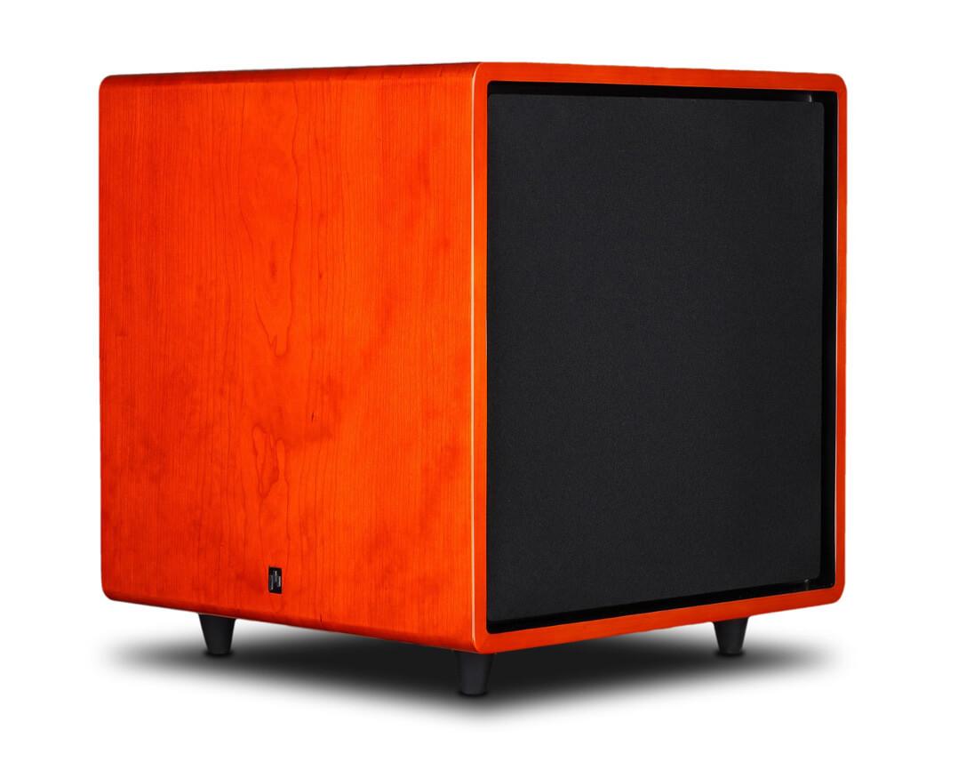 Aperion Audio Bravus II 12D mit Kirsche-Furnier