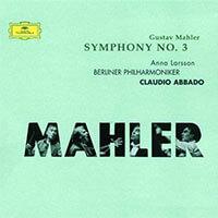 Mahlers 3.Symphonie von den Berliner Philharmonikern unter Claudio Abbado