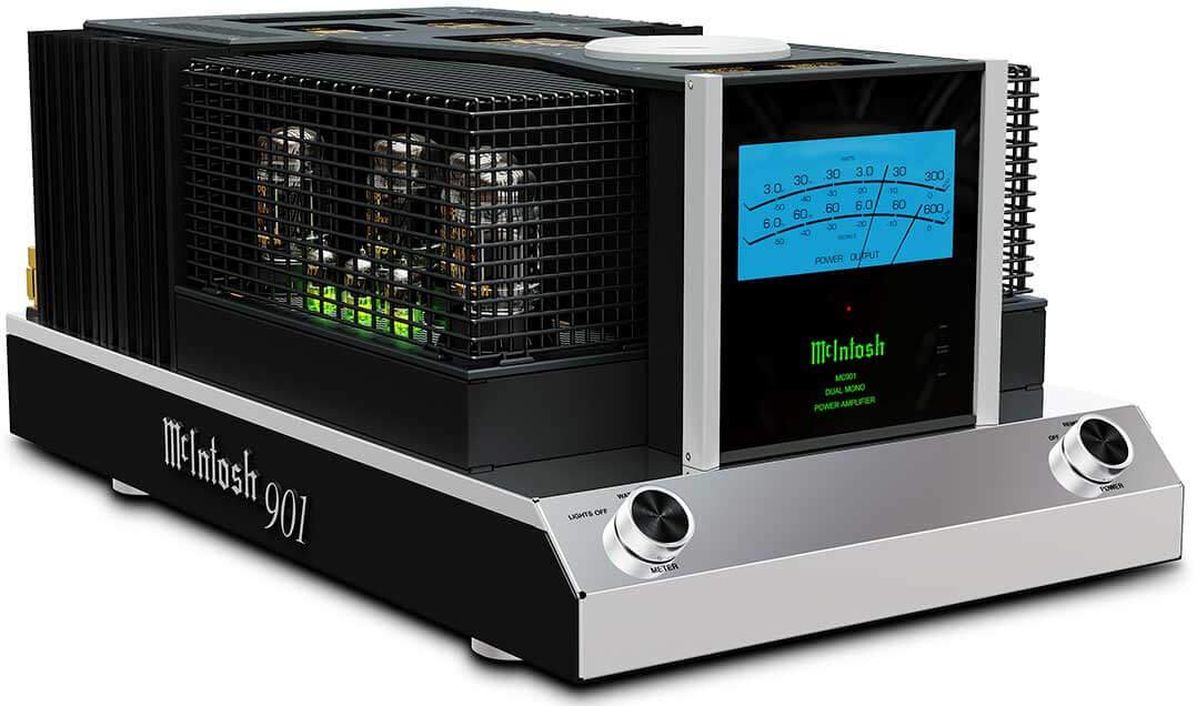 McIntosh MC901 AC mit Schutzgitter