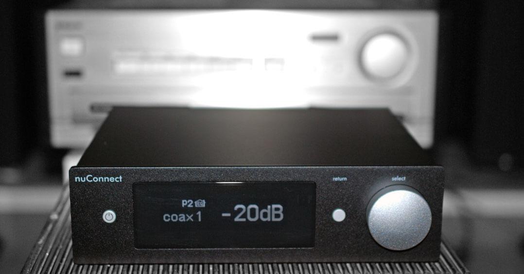 Nubert nuConnect ampX und Sony TA-F 808 ES