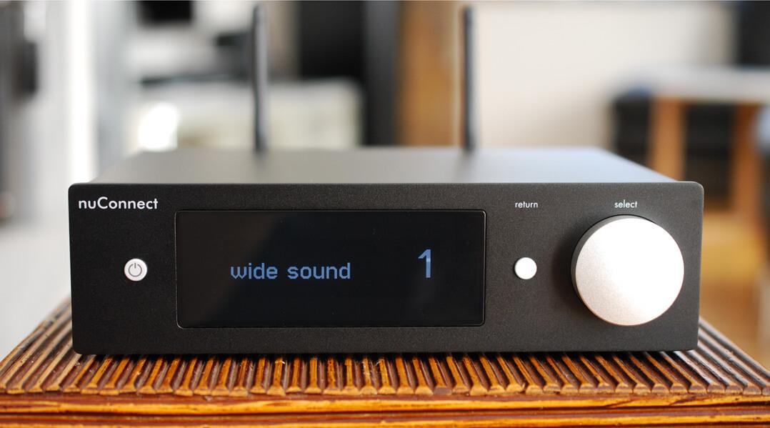 Nubert nuConnect ampX - Wide-Sound-Funktionalität