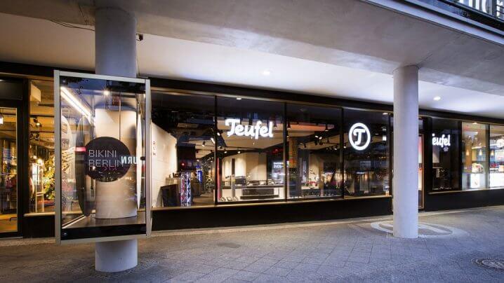 Teufel-Ladengeschäft in Berlin