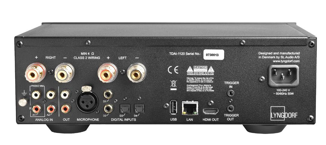 Lyngdorf TDAI-1120 Streaming-Verstärker