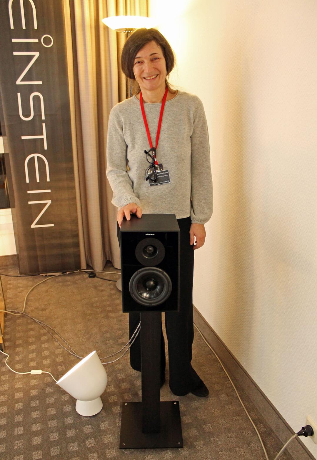 Annette Heiss von Einstein Audio