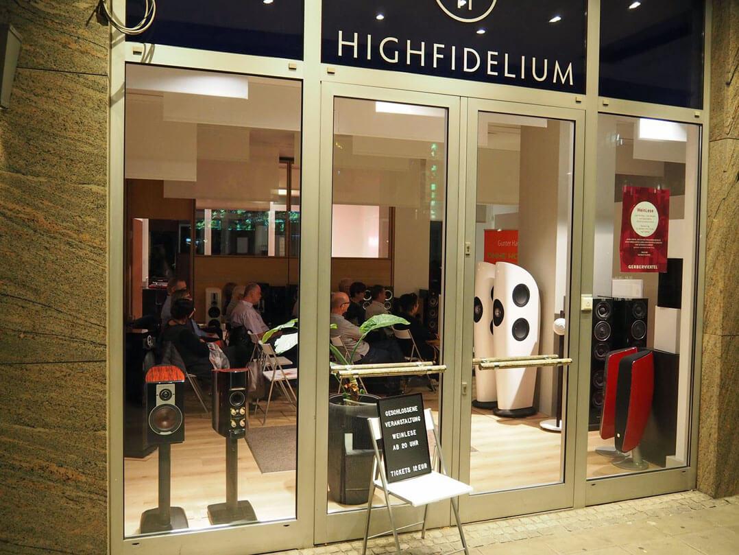 Highfidelium in Stuttgart