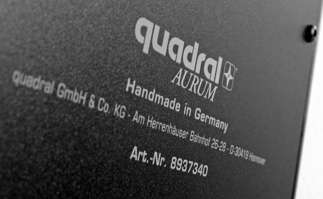 Quadral Aurum Gamma Made in Germany