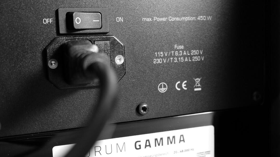 Quadral Aurum Gamma Netzkabel