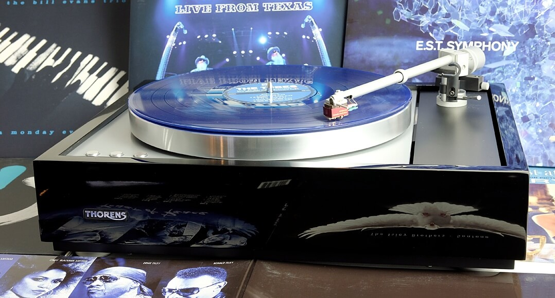 Thorens TD 1600, Ambiente blau
