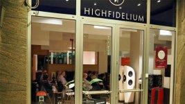 HighFidelium Ladenlokal außen