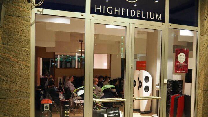 HighFidelium Ladenlokal aussen