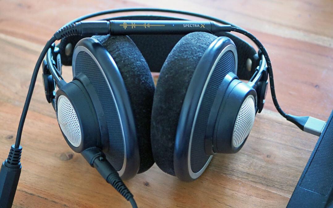 NextDrive Spectra X: mobiler DAC/Kopfhörerverstärker mit Over-Ear-Kopfhörer