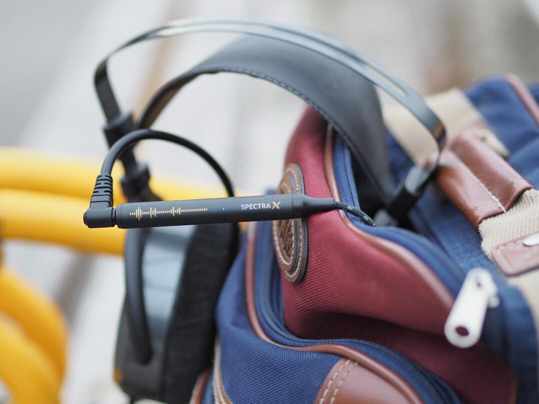 NextDrive Spectra X: mobiler DAC/Kopfhörerverstärker im Rucksack