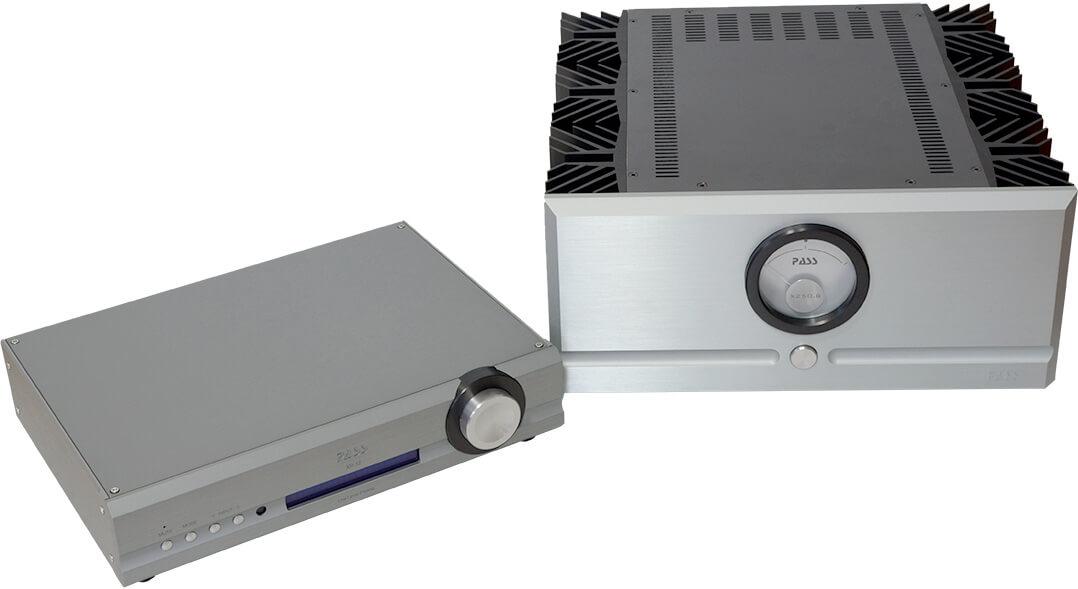 Vor-/Endstufen-Kombination Pass XP-12 & X250.8