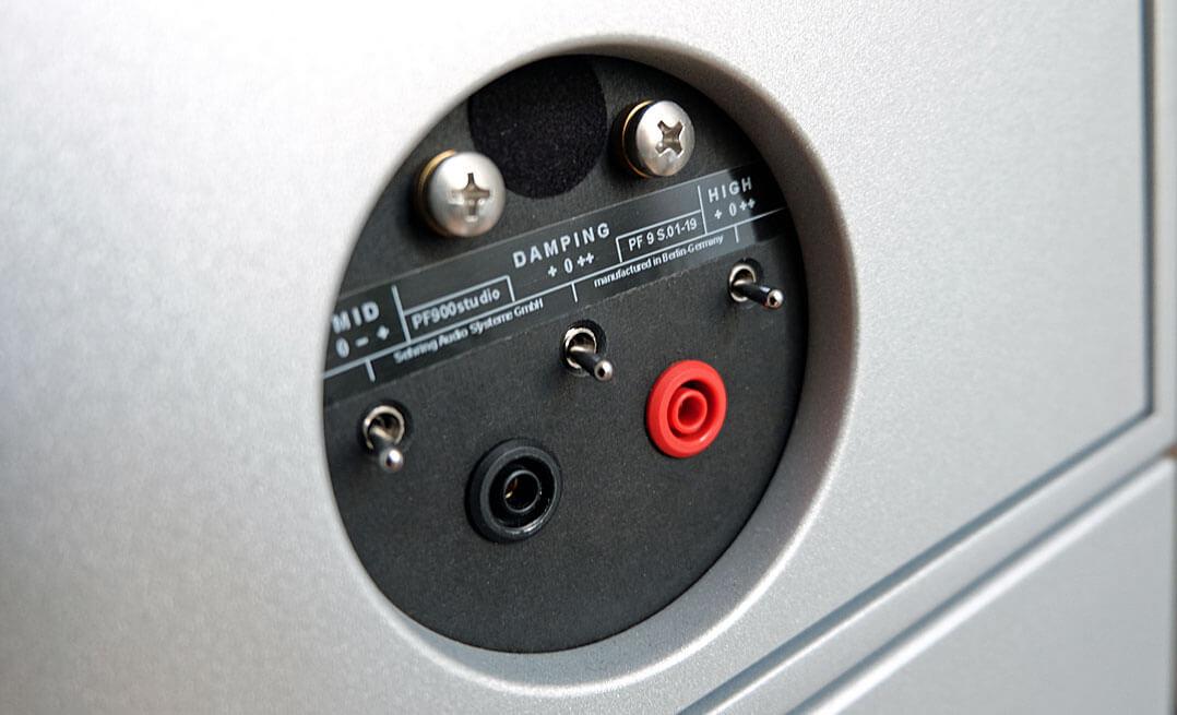 Sehring S903 Lautsprecher - Schalter zur Pegeleinstellung Bass, Mitten, Hochton