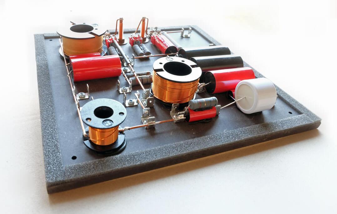Sehring S903 Lautsprecher - Frequenzweiche für den Mittelhochton