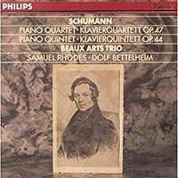 Beaux Art Trio - Schumanns Klavierquartett_