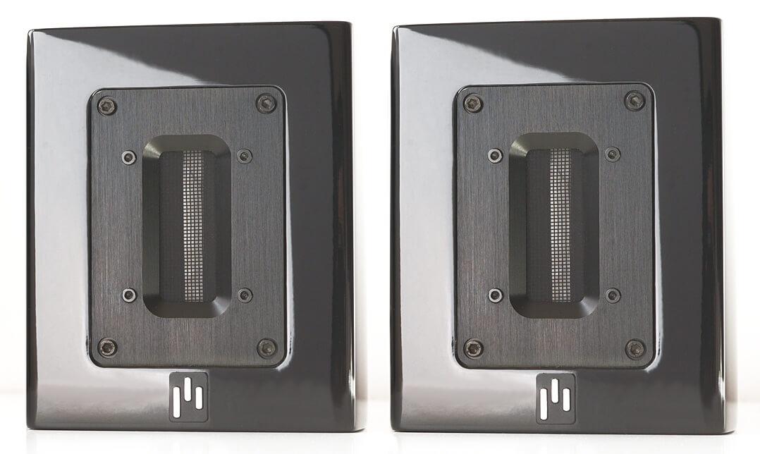 Aperion Audio Supertweeter Aluminium: Paar von vorne