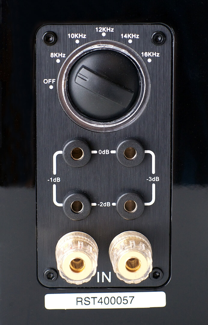 Aperion Audio Supertweeter Aluminium: Anschlüsse