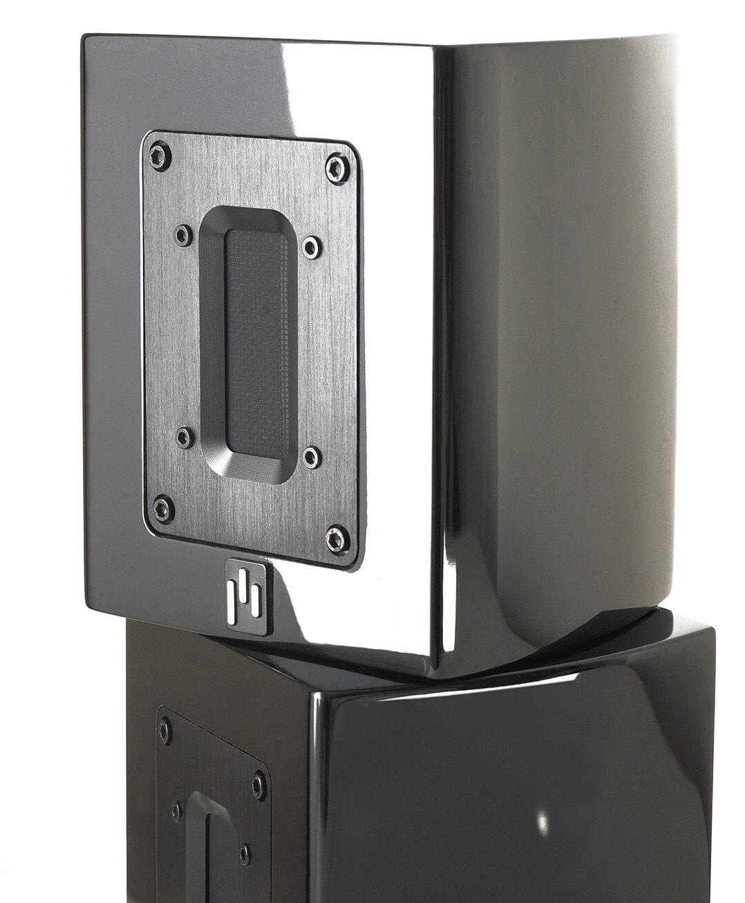 Aperion Audio Supertweeter Aluminium übereinander