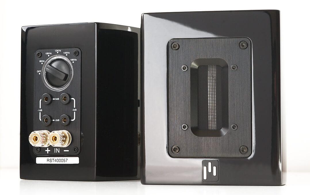 Aperion Audio Supertweeter Aluminium: Bändchen und Anschlüsse