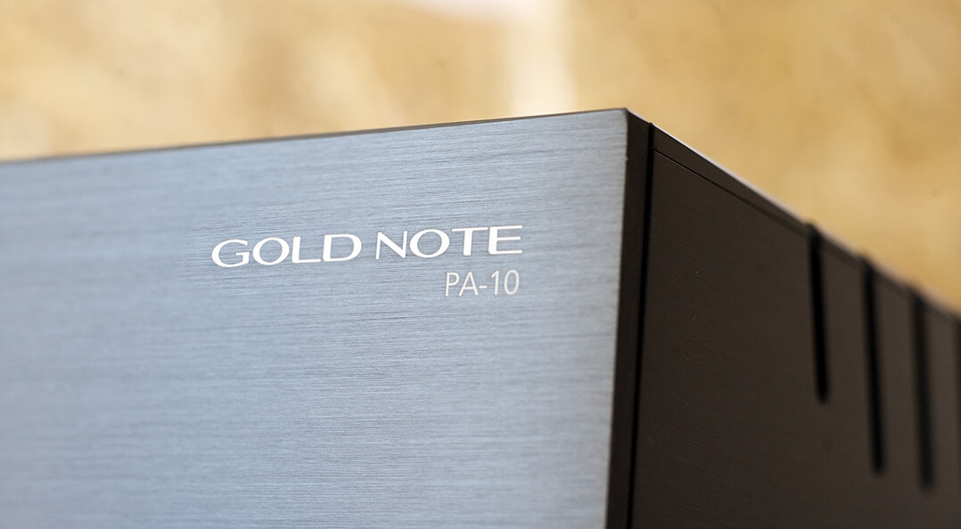 Gold Note PA-10, Logo