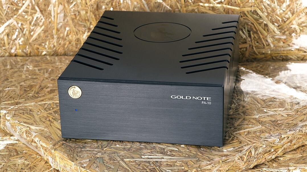 Gold Note PA-10, Endstufe vorne