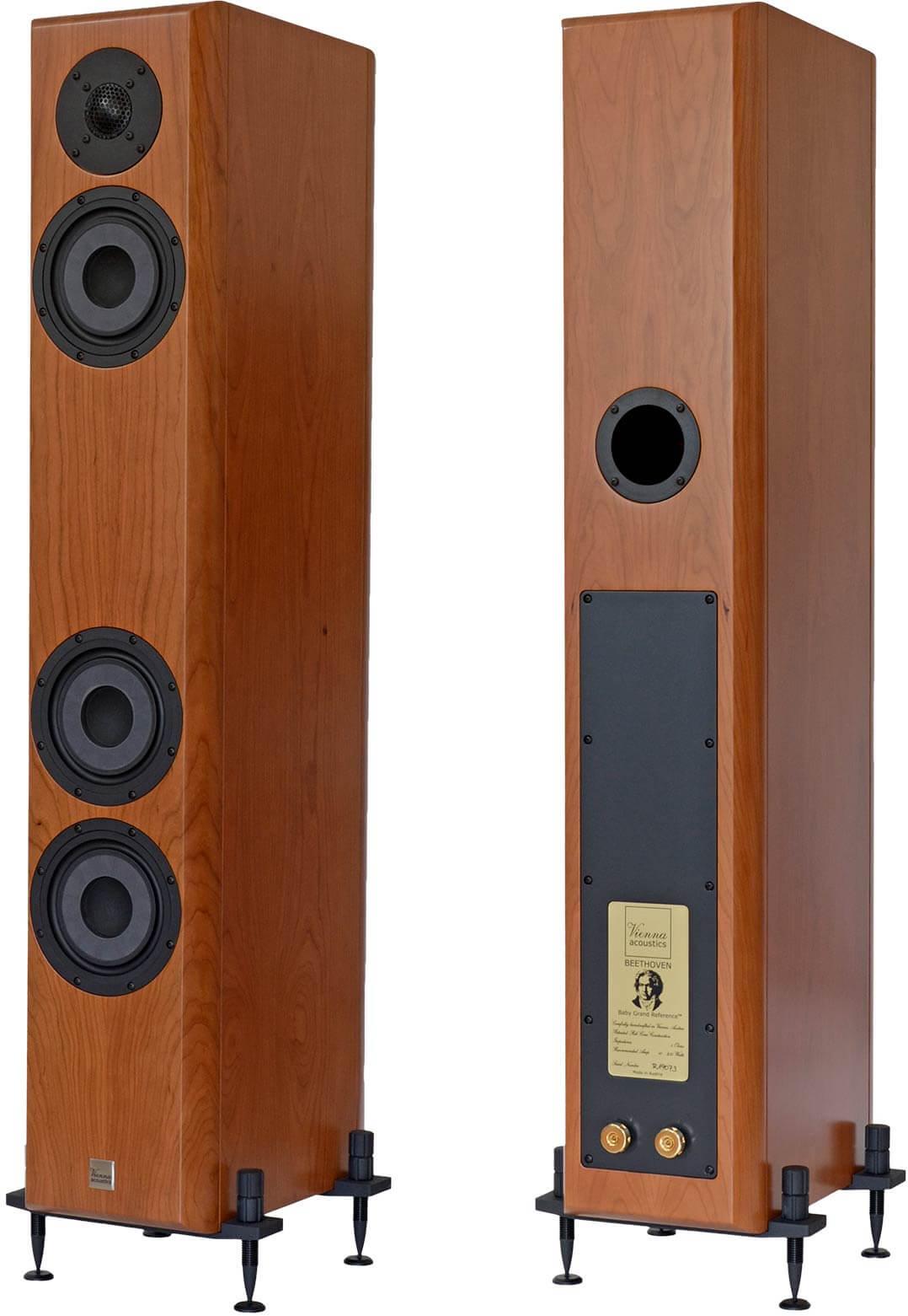 Vienna Acoustics Beethoven Baby Grend Reference, vorder- und Rückseite