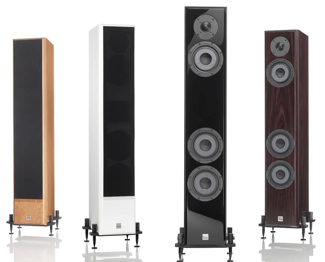Die Vienna Acoustics Beethoven Baby Grand Reference gibt es in vier Ausführungen