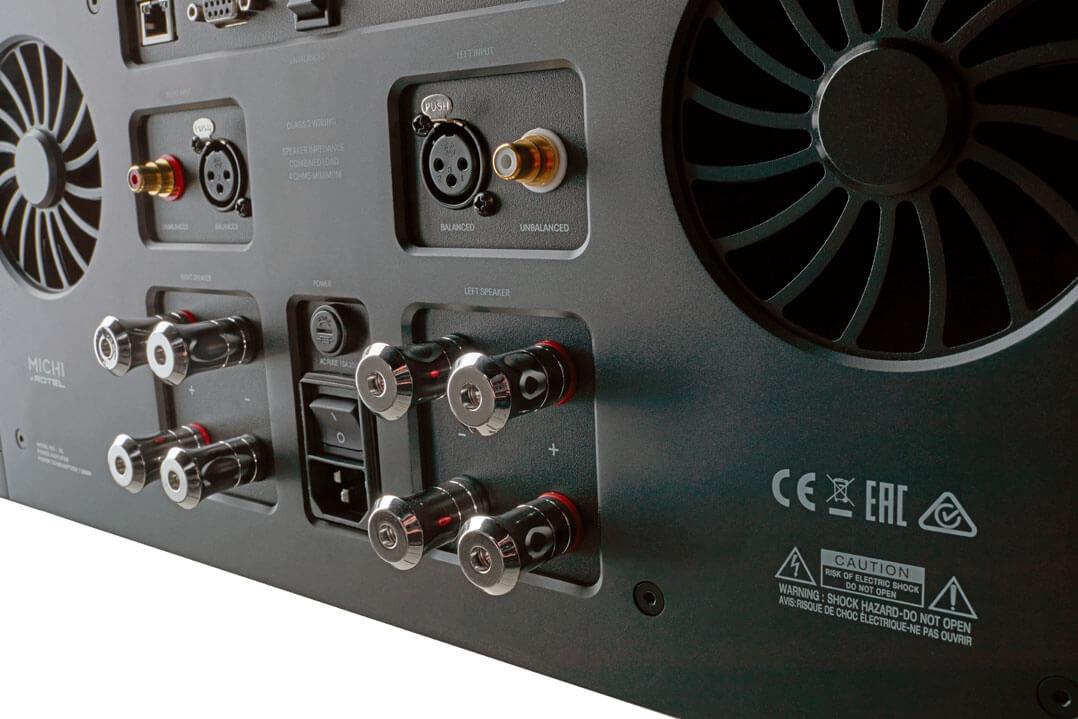 Rotel Michi S5 Stereo-Endverstärker - Lautsprecheranschlüsse