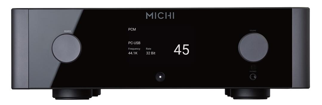 Rotel Michi P5 Vorstufe - Glasfront
