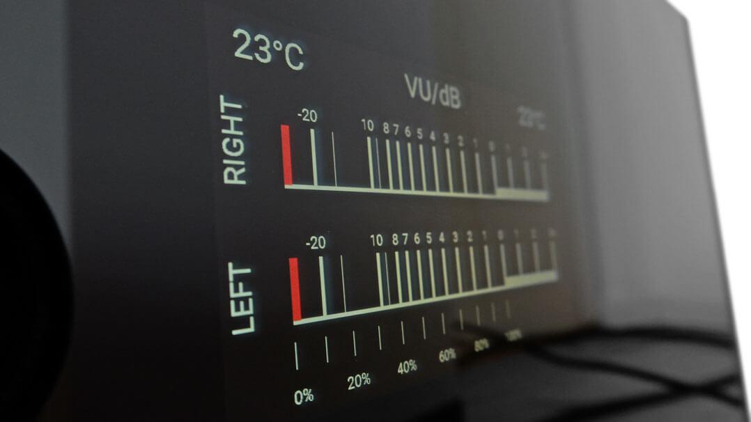 Rotel Michi S5 Endverstärker- VU-Meter