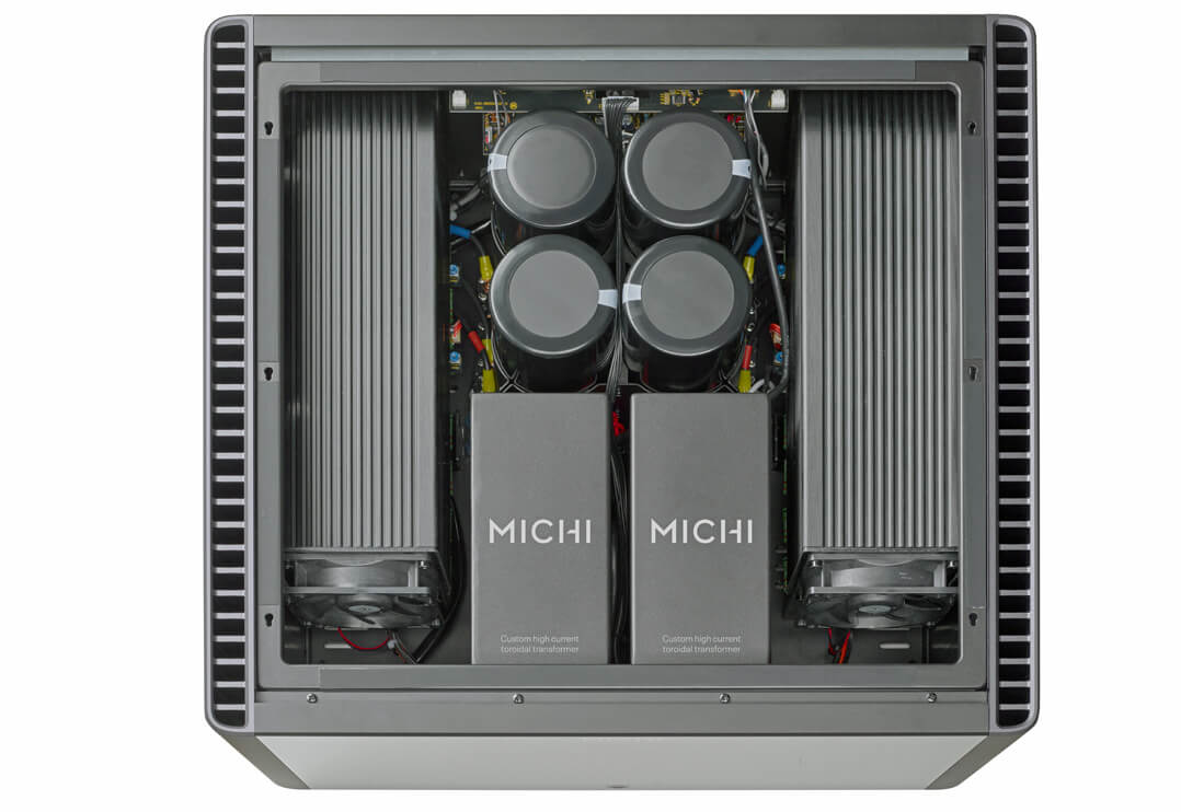 Rotel Michi S5 Stereo-Endverstärker - Innenaufnahme Technik