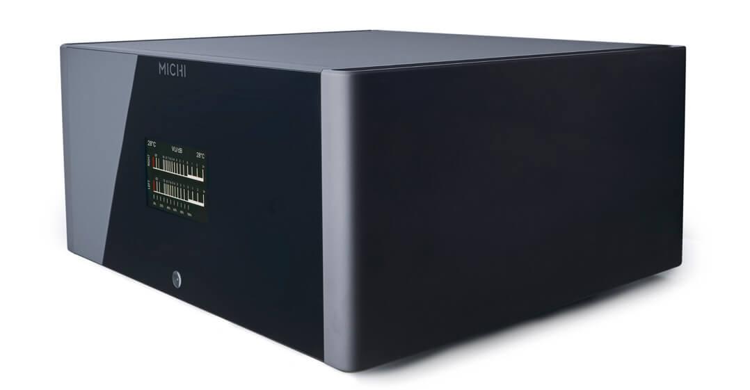 Rotel Michi S5 Stereo-Endverstärker seitlich von vorne