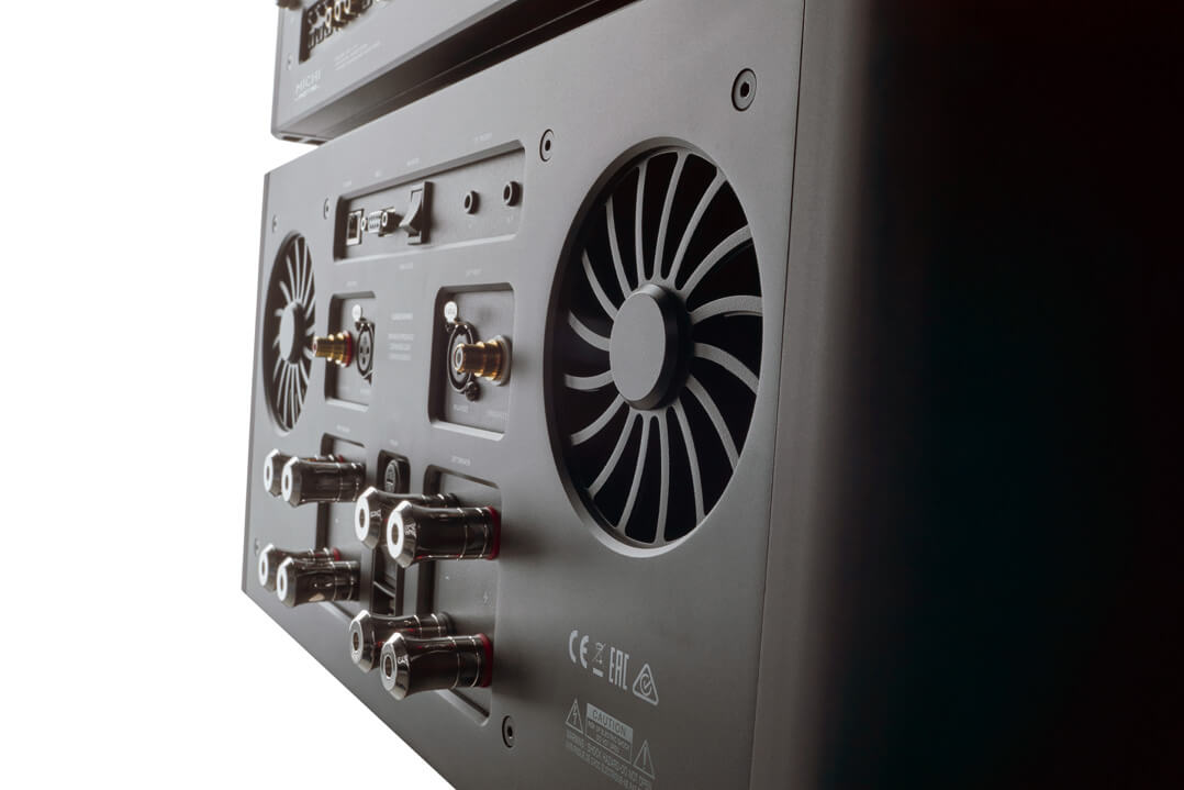 Rotel Michi S5 Stereo-Endverstärker - Ventilatoren