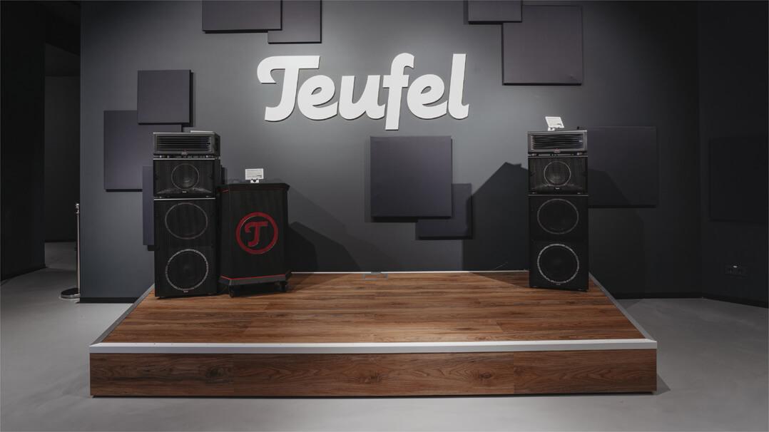 Teufel Store Eröffnung Leipzig