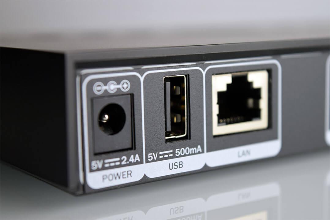 Am Teufel Streamer fühlen sich auch USB-Speichermedien wohl