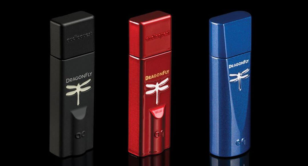 Gewinnspiel: Audioquest Dragonfly Cobalt + Red + Black